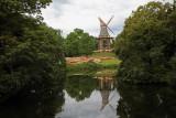 Weser River View, Bremen, Germany.
