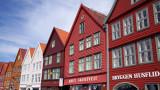 Hanseatic Shopfronts, Bergen, Norway.