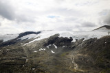 Jostedalen Glacier viewed from Mt. Dalsnibba, Norway.