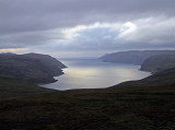 Panorama of North Cape, Norway.