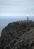 North Cape -  Cliff and Monument, Norway.