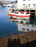 Reflection - Harbour, Honningsvaag, Norway.