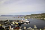 Port Panorama, Hammerfest, Norway.