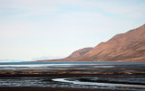 Seascape, Longyearbyen, Spitsbergen, Norway.