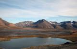 Landscape, Longyearbyen, Spitsbergen, Norway.