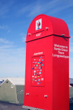 Santa's Postbox, Longyearbyen, Spitsbergen, Norway.