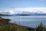 Seaview from Churchyard, Trondenes, Norway.