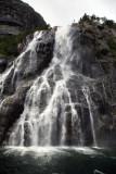 Hengjane Falls, Lysefjord, Norway.