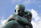 Sculpture - Grandfather and Child, Vigeland Park, Oslo, Norway.