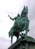 Monument - City Founder, Gothenburg, Sweden.