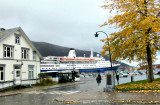 CRUISE SHIP AT TROMSO HARBOUR