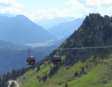 CABLE CARS ABOVE REUTTE  .  1