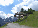 THE ALPS' LARGEST SUNDIAL