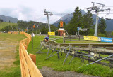 END OF THE ALPINE COASTER