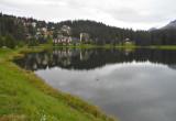 Looking Across Obersee Lake.