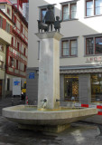 Trough and Statue