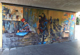 Urban Art in the Underpass . 1