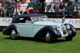 1938 Talbot-Darracq T23 Drop Head Coupe, Linda & Paul Gould, Pawling, NY, Amelia Award - European Custom Coachwork (0924)