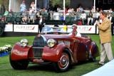 1934 Bugatti Type 57 Aravis, Paul Emple, Rancho Santa Fe, CA, Meguiar's Award for Car With the Most Outstanding Finish (1378)