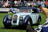 1938 Talbot-Darracq T23 Drop Head Coupe, Linda & Paul Gould, Pawling, NY, Amelia Award - European Custom Coachwork (0928)