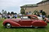 1948 Delahaye 135M Drophead Coupe by Figoni & Falaschi, JWR Automobile Museum, Frackville, Pennsylvania (3631)
