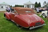 1948 Delahaye 135M Drophead Coupe by Figoni & Falaschi, JWR Automobile Museum, Frackville, Pennsylvania (3636)