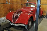 1937 Peugeot 402 Treasured Motorcars Open House in Maryland -- May 2014 (6485)
