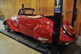 1937 Peugeot 402, Treasured Motorcars Open House in Maryland -- May 2014 (6490)