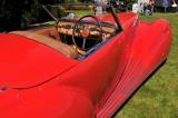 1947 Delahaye 135M Roadster by Figoni et Falaschi, owners: Robert & Sandra Bahre, Alton, NH -- The Hotel Hershey Award (7450)