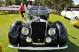 1937 Delage D8-120 Deltasport Three-Position Cabriolet by Henri Chapron, owner: Paul Gould, New York, NY (9049)