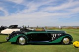 1937 Delage D8-120 Deltasport Three-Position Cabriolet by Henri Chapron, owner: Paul Gould, New York, NY (9060)