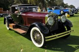 1928 Isotta Fraschini 8A SS Boattail Convertible Coupe by LeBaron, Peter Boyle, BEST IN SHOW, 2014 St. Michaels Concours (9091)