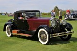 1928 Isotta Fraschini 8A SS Boattail Convertible Coupe by LeBaron, Best in Show, owner: Peter Boyle, Oil City, PA (9354)