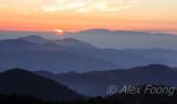 Brinchang Sunrise