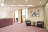 Work featured in high end office space as part of the interior design