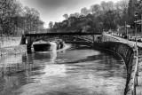 Sambre River and the citadel of Namur