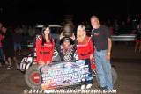 8-31-13 Calistoga Speedway: Louie Vermeil Classic Night 1