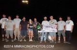 9-4-14 Silver Dollar Speedway: USAC CRA - BCRA/USAC Midgets