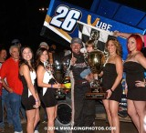 10-18-14 Tulare Thunderbowl Raceway: Trophy Cup night 3