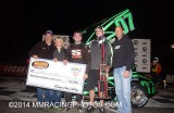 11-21-14  Madera Speedway: King of Wing Sprintcars - NCMA - Supers - HPD Midgets