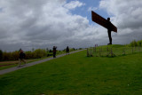 Taking Pictures Of The Angel Of The North