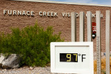 97 degrees at Furnace Creek