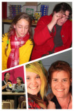 collage mothers and daughters