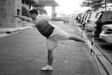 Yoga before golf