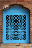 window at Masjed-e Jameh mosque