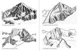 Croquis de Maurice Boy pour illustrer le guide de la région d'Aure et de Luchon