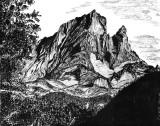 Pic du Midi d'Ossau, versant Nord-Ouest