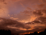 9-17-2014 Cloudy Sunset 2
