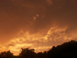 6-21-2015  Mammatus Clouds Sunset 1