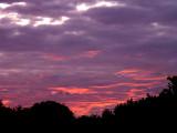10-5-2015 Cloudy Sunset 1